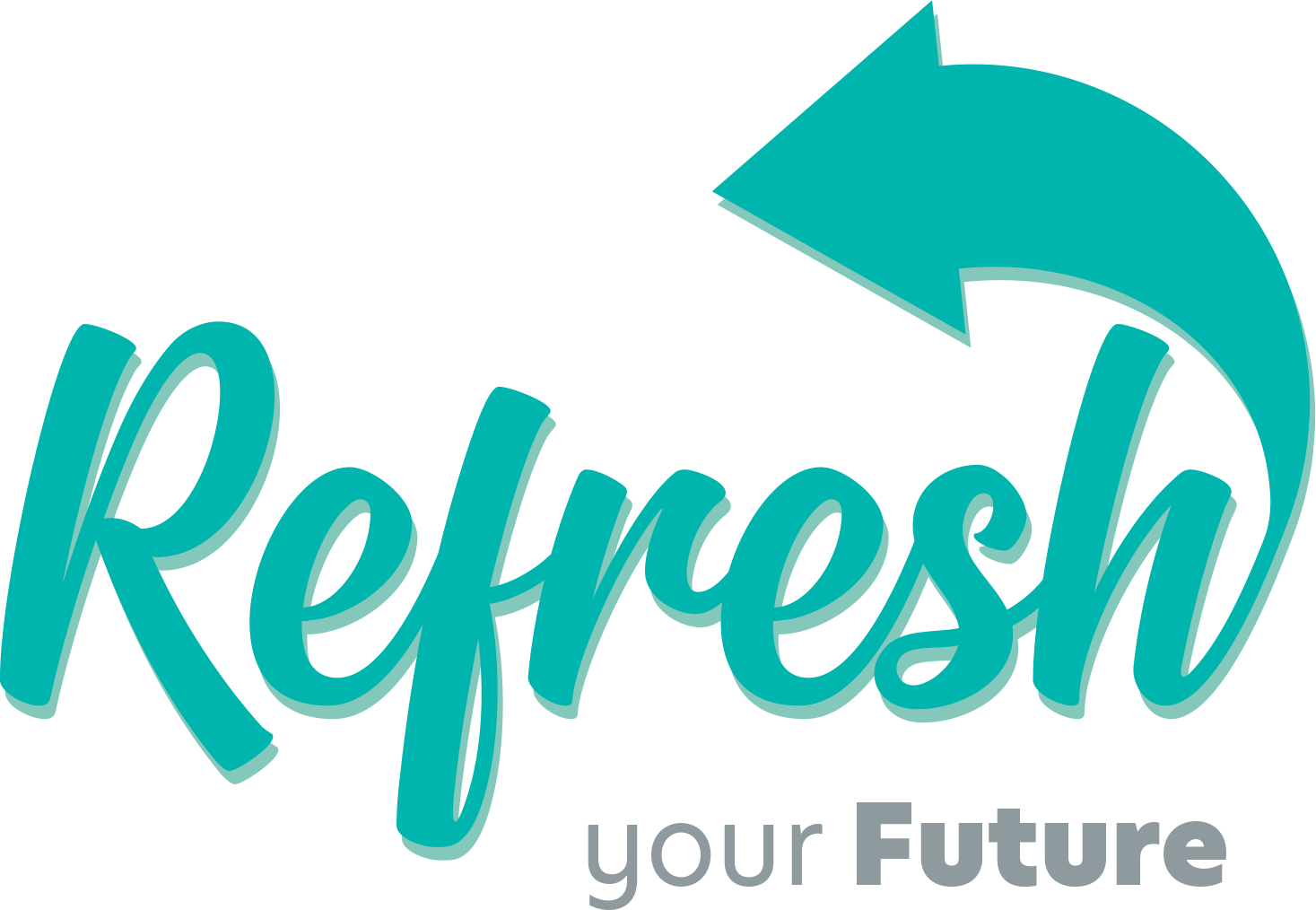 Refresh your future logo