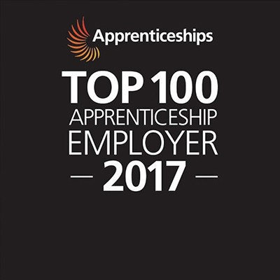 Centrica Top 100 - 2017 Apprenticeship Employers