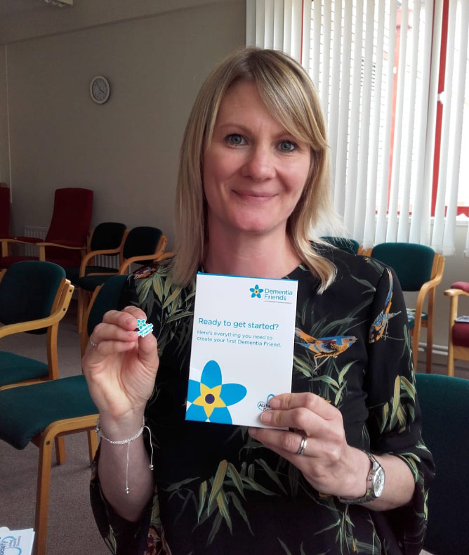 Join BB Training in becoming a dementia friend