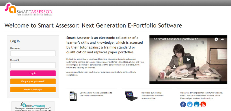 Log into your Smart Assessor account here.